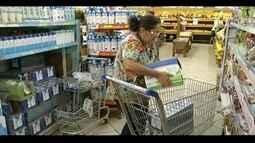 Preço do leite tem redução de quase 40%