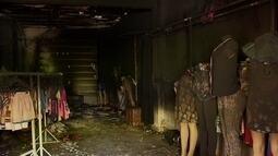 Assaltantes incendeiam loja no Sol Nascente
