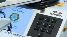 Processo de carga e lacre de urnas que serão usadas nas eleições começa nesta segunda (24)