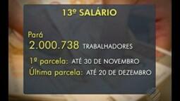 Pagamento do décimo terceiro salário deve injetar R$ 4 bilhões na economia do Pará