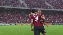 O gol de Atlético-PR 1 x 0 Cruzeiro pela 33ª rodada do Brasileirão 2016