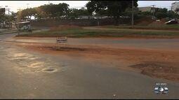 Moradores reclamam da retirada de rotatória no Centro de Goiânia
