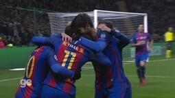 Os gols de Celtic 0 x 2 Barcelona pela fase de grupos da Liga dos Campeões