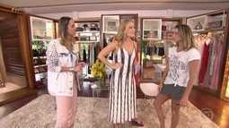 Deborah Secco abre seu closet para Angélica