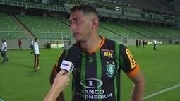 """Após empate do América-MG com o Sport, Danilo afirma: """"Caímos de cabeça erguida"""""""