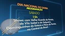 Rodas de samba agitam as comemorações do Dia Nacional do Samba