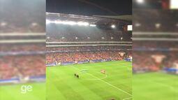 Benfica e Napoli fazem um minuto de silêncio em homenagem às vítimas da Chape