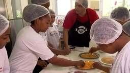 Espaço Criança Esperança de BH recebe visita de chefs de cozinha do 'Comida de Buteco'
