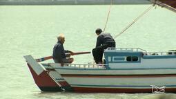 Dois navegantes solitários fazem passeio entre São Luís e Alcântara