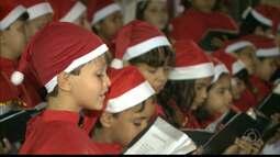 Presépio de Natal foi apresentado ontem, em Guarabira