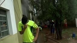 Clube diz que vai arcar com prejuízos de atletas após fogo em alojamento