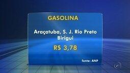Gasolina em três cidades da região está entre as mais caras do estado