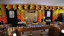 Paranaense prepara festa temática da Stock Car para aniversário de 1 ano do filho