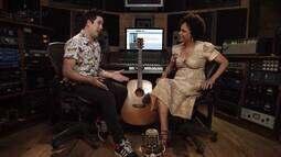 Teresa Cristina brinca que aprendeu a cantar antes de falar