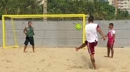 Atrás do título, Fluminense busca em Portugal três campeões mundiais no Futebol de Areia