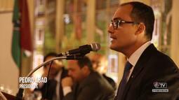 Flu TV - Posse do novo presidente do clube, Pedro Abad