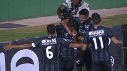 Os gols de Botafogo 3 x 0 Atlético-MG pela 2ª fase da Copa SP de Futebol Junior