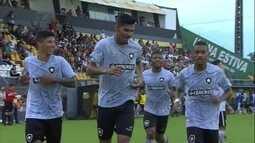 Os gols de Botafogo 1 (4) x (3) 1 Novorizontino pela Copa SP de futebol júnior