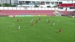 O gol de Ceará 0 x 1 Internacional pela Copa São Paulo de Futebol Júnior