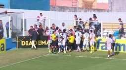 Juventude elimina Água Santa na Copinha em jogo marcado por confusão
