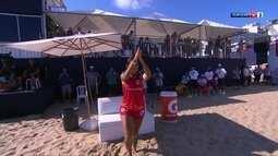 Brasiliense Lana e capixaba Rayana vencem o Craques do Futebol de Areia