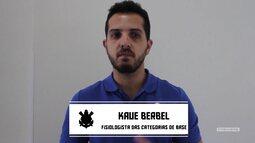 Vai, Corinthians - Fisiologista da base, Kaue Berbel, fala da preparação para a Copinha