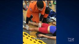 Atletas pedem mais segurança após atropelamento na Avenida Litorânea