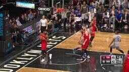 Melhores momentos: Toronto Raptors 119 x 109 Brooklyn Nets pela NBA