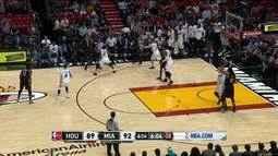 Melhores momentos: Houston Rockets 103 x 109 Miami Heat pela NBA