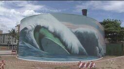 Emissário submarino ganha um novo visual em Praia Grande