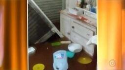 Chuva causa transtornos em cidades da região de Bauru