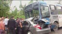 Acidente deixou duas pessoas feridas e uma morta em São Vicente
