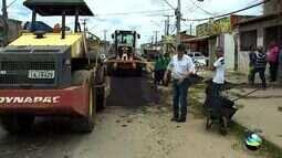 Obra emergencial está sendo realizada na Avenida Euclides Figueiredo em Aracaju