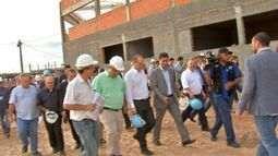 Ministro da Saúde visita hospitais em Cuiabá e libera 76 milhões de reais para MT