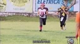 Primeiro jogo beneficente de futebol americano é realizado em Divinópolis
