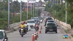 Veja a movimentação do trânsito nas ruas e avenidas de São Luís