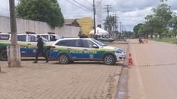 Polícia isola quadras de presídios de Ariquemes para fazer revista em celas