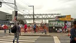 CPTM fala sobre término das obras em passarela de Suzano