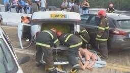 Simulação de acidente une médicos, bombeiros e helicóptero em Oiapoque
