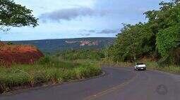 Erosão ameaça estrada no Oeste de Mato Grosso