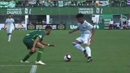 Os gols de Chapecoense 2 x 2 Palmeiras em jogo amistoso