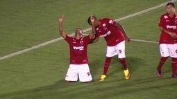 Os gols do amistoso entre Vila Nova 2 x 1 Flamengo