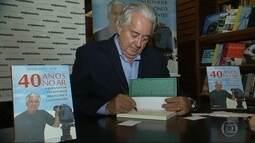 O repórter Francisco José lança livro sobre sua carreira