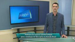Prefeitura de Cascavel cancela licitação para a instalação de fibra óptica na Brasil