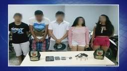 Quadrilha de jovens é detida por assaltos na Zona Oeste de Manaus