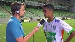 """Felipe Amorim lamenta empate: """"Infelizmente não marcamos e o que vale é gol"""""""