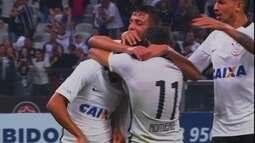 O gol de Corinthians 1 x 0 Ferroviária em amistoso