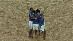 Brasil goleia o Peru nas Eliminatórias para Copa do Mundo de futebol de areia