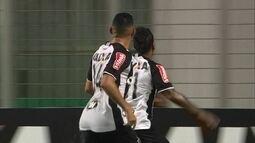 Os gols de Atlético-MG 2 x 0 Joinville, pela Copa da Primeira Liga
