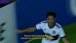 Redação AM: o gol de Roque Santa Cruz, que levou o Olimpia à próxima fase da Libertadores